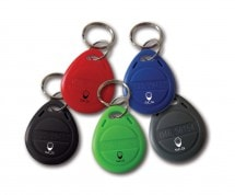 Lot de 5 badges couleur, Clavier, XO-C 5 badges